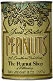 The Peanut Shop of Williamsburg Green Boiled Peanuts, 8-Ounce (Dry Weight) Tins (Pack of 6)