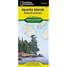 Apostle Islands National Lakeshore, Wisconsin: Outdoor Recreation Map