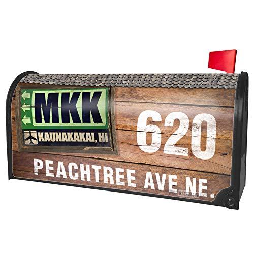 NEONBLOND Custom Mailbox Cover Airportcode MKK Kaunakakai, -