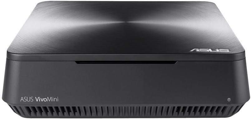 ASUS VM45-GC072Z - Mini Ordenador de sobremesa (Intel Celeron 3865U, 4 GB RAM,64 GB SSD, Intel HD Graphics 610, Windows 10 Original) Gris Hierro