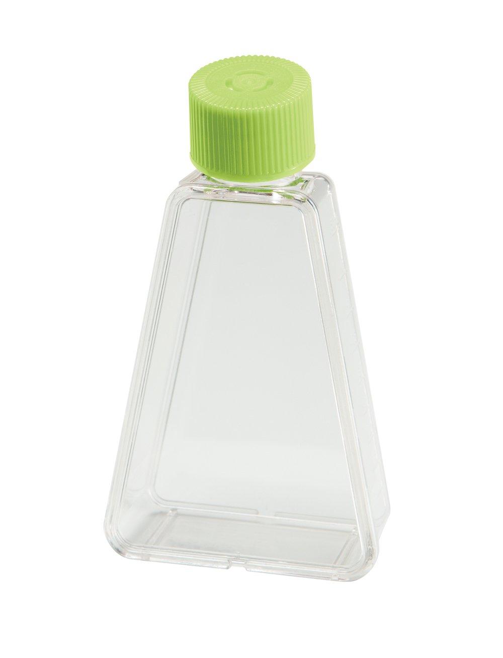 TrueLine Clear Polystyrene Sterile Triangular 75cm2 Cell Culture Flask, Non Vent Cap, 15-23ml Volume (Case of 100)