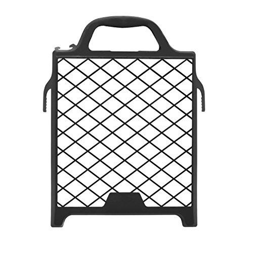 10er-Set: Abstreifgitter 27 x 29 cm Kunststoff schwarz / Malergitter / Abstreichgitter