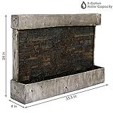 Sunnydaze Ancient Wall Fountain - Modern Indoor