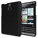 Seidio SURFACE Case for BlackBerry Passport Silver Edition [Ultra-Slim Protection] - Carrier Packaging - Black