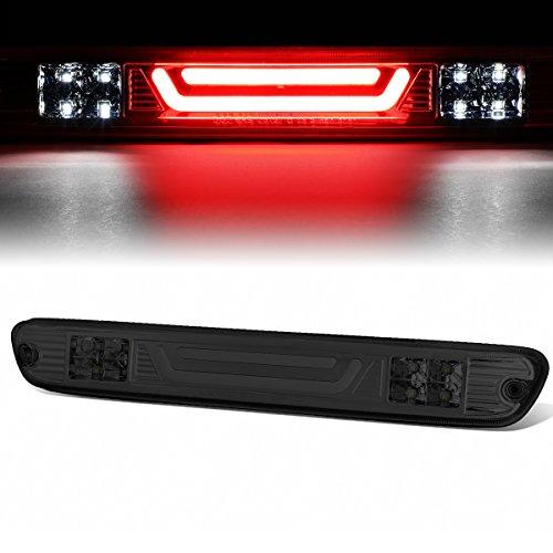 For Chevy Colorado/GMC Canyon 3D LED Bar 3rd Third Tail Brake Light Rear Cargo Lamp (Chrome/Smoked)