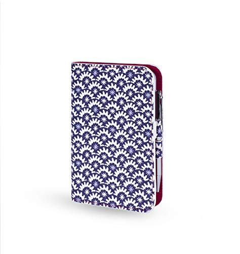 - Vera Bradley Holiday Leatherette Journal with Black Ink Pen, Night Stars