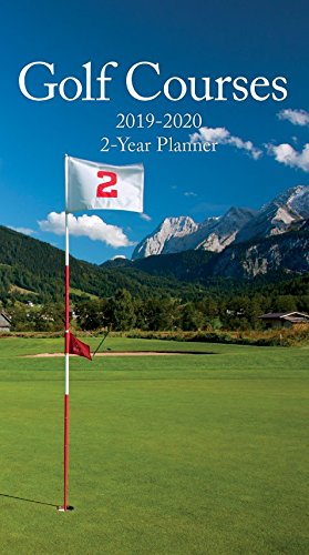 Turner Photo Golf Courses 2019 Two Year Planner (199989600040 Appointment Planner (19998960004)