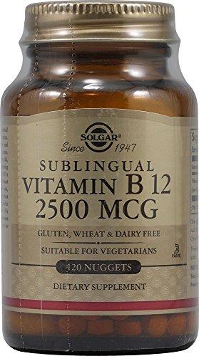 Solgar Vitamin B12 2500 Nuggets product image
