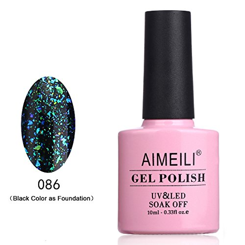 AIMEILI Soak Off UV LED Galaxy Paranoid Collection Clear Gli
