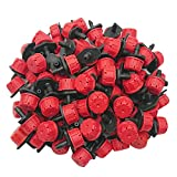 Axe Sickle 100pcs Adjustable Irrigation Drippers