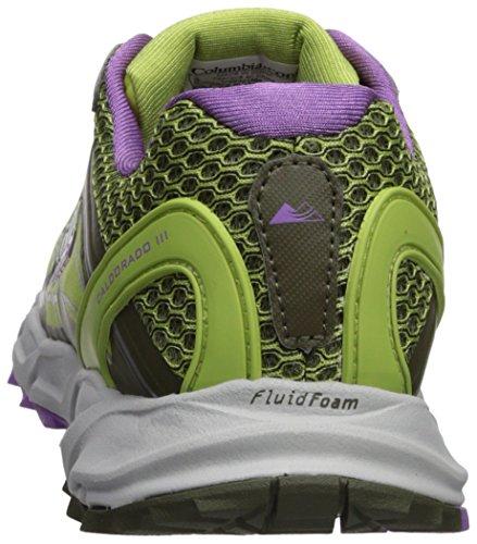 Columbia Montrail Women's Caldorado III Trail Running Shoe Nappa Green, Crown Jewel