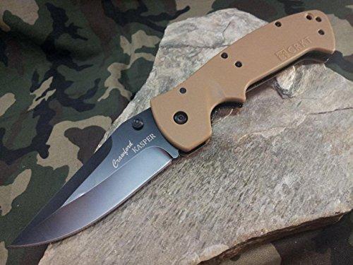 CRKT CR6773DB Crawford Kasper Folding Knife Blk 3.875
