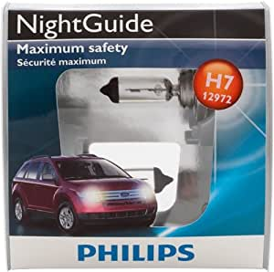 philips h7 nightguide replacement bulb pack. Black Bedroom Furniture Sets. Home Design Ideas