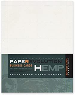 product image for Hemp Heritage Business Cards-100 laser perforated
