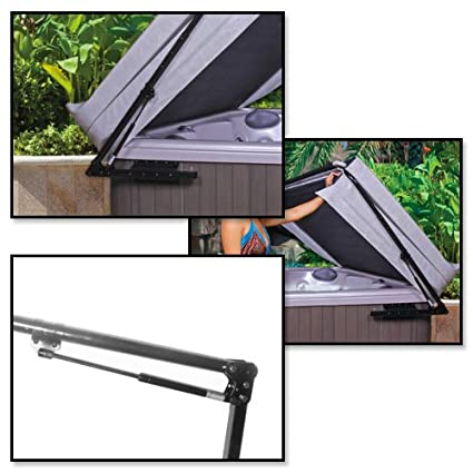 products family pools lifter cover pioneer cradle hot tub