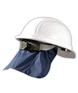 OccuNomix 969-018 Miracool Cooling Hard Hat Pad with Neck Shade, Capacity, Volume, Standard, Blue (Pack of 10)