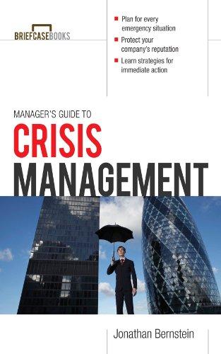amazon com manager s guide to crisis management briefcase books rh amazon com