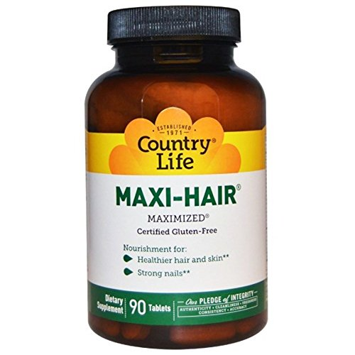 Country Life Maxi Hair 90 Tablet product image