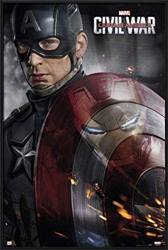 Captain America 3: Civil War - Framed Marvel Movie Poster /