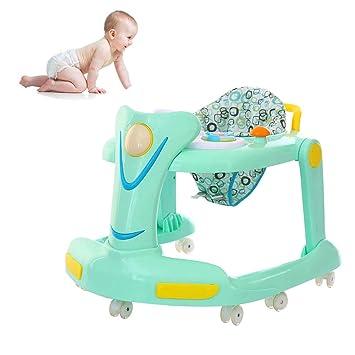 WDXIN Bebé Andador Juguete Multifuncional Defensa Rollover Bebe La ...