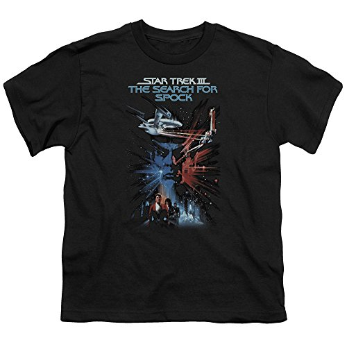 Star Trek Search For Spock Movie S S Youth 18 1 Black Lg