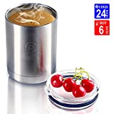 CHANTPOWER 20oz/30oz/36oz/10oz Coffee Tumbler, Coffee Travel Mug, Spill Proof Stainless Steel Travel Coffee Mug for Cold & Hot Drinks, Double Wall Vacuum Insulated Coffee Flask with Splash Proof Lid