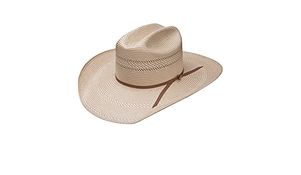 Stetson And Dobbs Hats RSHANC-6842 Hancock,Regular Oval Cowboy Hat Nat//Tan S