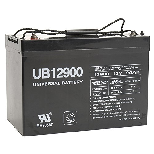 12V 90Ah Battery for Power Boat Pontoon Electric Trolling Motor Deep Cycle