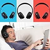 Bulges Wireless Bluetooth Headphone Foldable Over Ear Headset,Great Gift for Children Earphone Compatible with Smartphones and PC Tablet