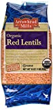 Arrowhead Mills Organic Red Lentils, 16 oz (Packaging May Vary)