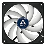 ARCTIC F12 PWM - 120 mm PWM Case Fan | Silent Cooler with Standard Case | PWM-Signal regulates Fan Speed | Push- or Pull Configuration possible