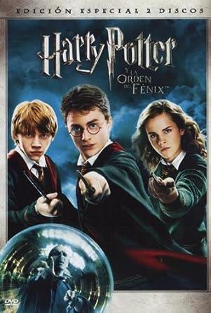 Harry Potter y la orden del fenix Edición especial DVD: Amazon.es ...