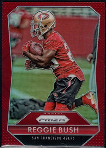 Football NFL 2015 Panini Prizm Red Prizm #39 Reggie Bush 49ers