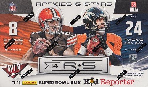 2014 Panini Rookies & Stars Football Hobby (Stars Football Cards Hobby Box)