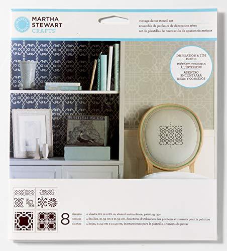 Martha Stewart Crafts 33556 Martha Stewart Ornamental Trellis 4pk - Fabric Giggles Medium