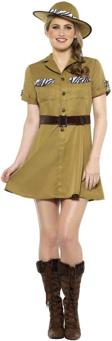 Smiffys Disfraz de Explorador Safari para Mujer: Amazon.es ...