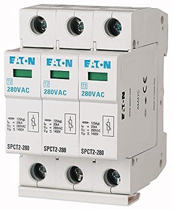 335VAC Eaton 167622 /Überspannungsableiter steckbar 3P+N 20kA