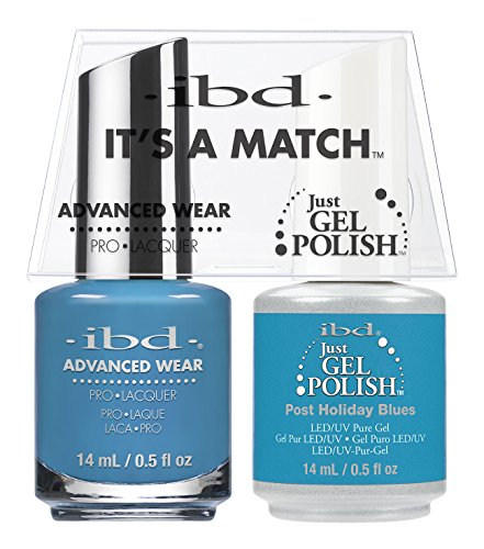ibd Advanced Wear Color Duo Post Holiday Blues #682 UV Gel C