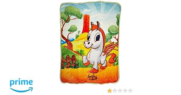 Ultra Soft Plush Jumbo Fleece Blanket Baby Pegasus Horse Pony Baby Mink