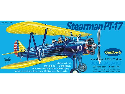 Guillow's Stearman PT-17 Model