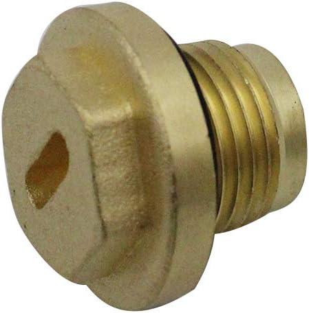 Carrfan Oil Drain Nut Brass Diff Filler Plug Kit for Land Rover Discovery 2 Td5 /& V8