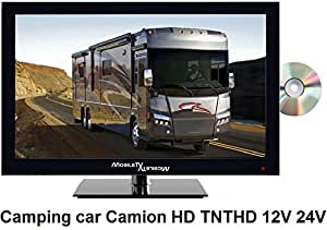Mobile TV slimtv16dvd Pantalla LCD 15.6 (40 cm, 720 píxeles, sintonizador TDT, 50 Hz): Amazon.es: Electrónica