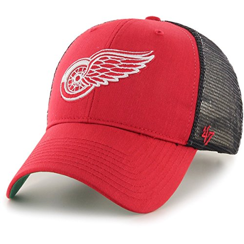 '47 Brand Adjustable Cap - Branson Detroit Red Wings red