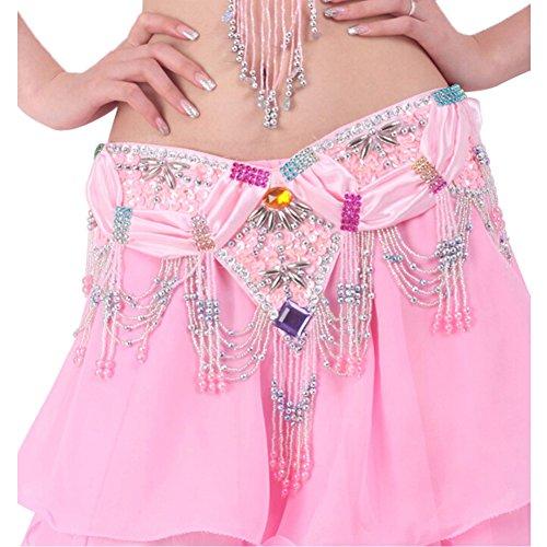Rose Belly Hip Belle Glands Scarf Costume Dance qOqxYSA