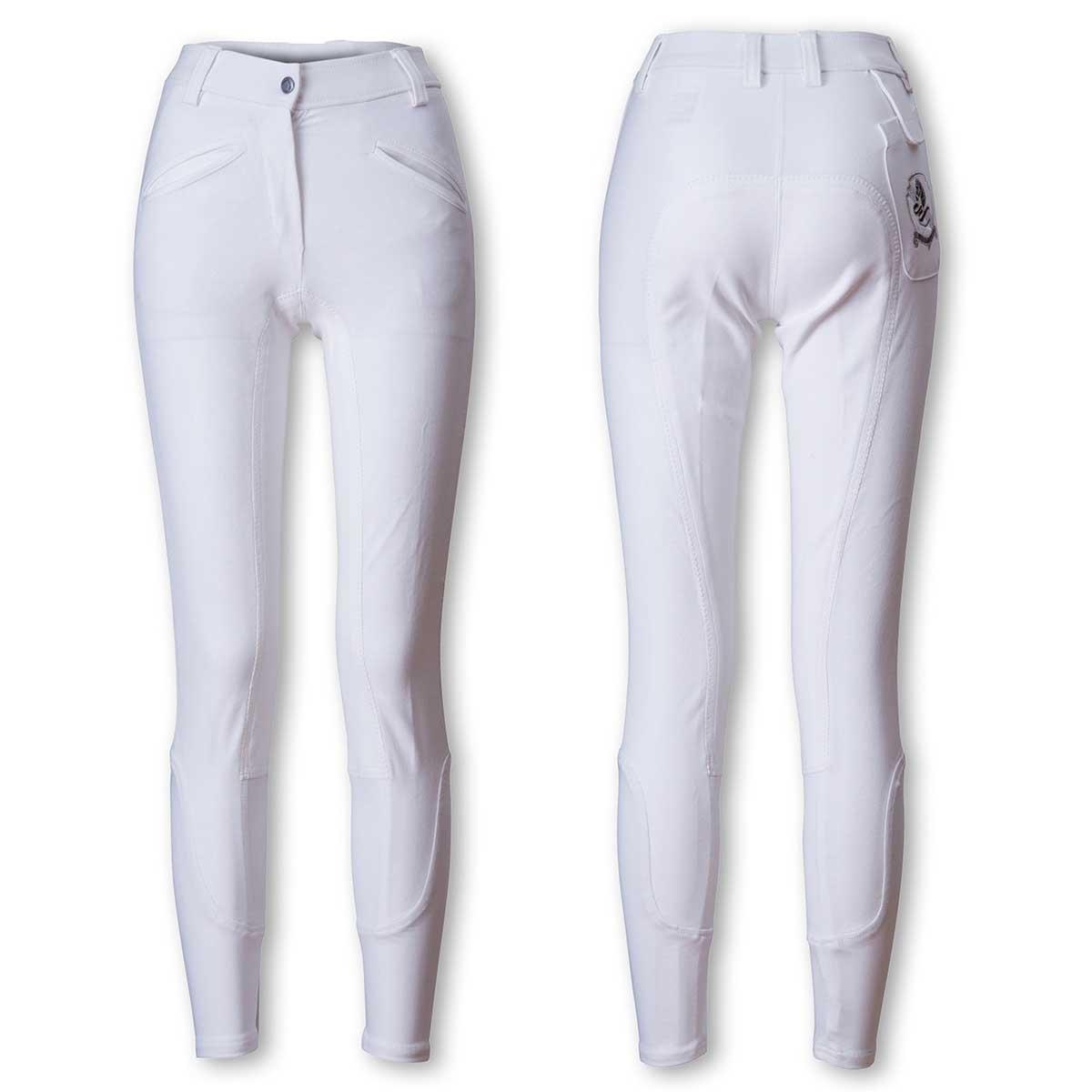 乗馬 キュロット ズボン パンツ EQULIBERTA ライディングキュロット 尻革 メンズ 乗馬用品 馬具 B077JC794Y XL ホワイト/ホワイト ホワイト/ホワイト XL