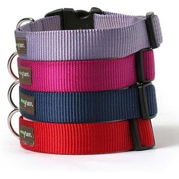 Nylon Dog Collar-S(5/8)-SLATE