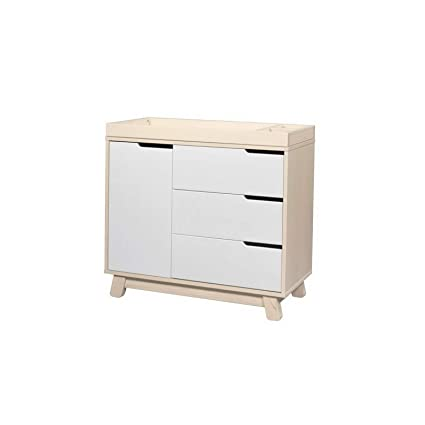 Amazon.com: Hebel Hudson Dresser, Grey/White | Model DRSSR ...