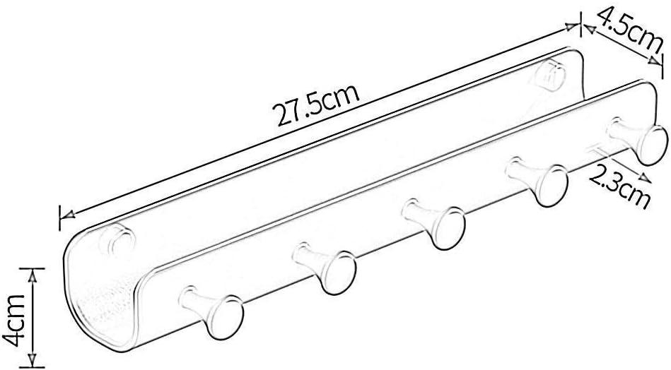 27.5x4.5x4cm Bathroom Bathroom Rack Chrome Black Compact Shelf Rectangular Kitchenware Creative Bathroom Shelf