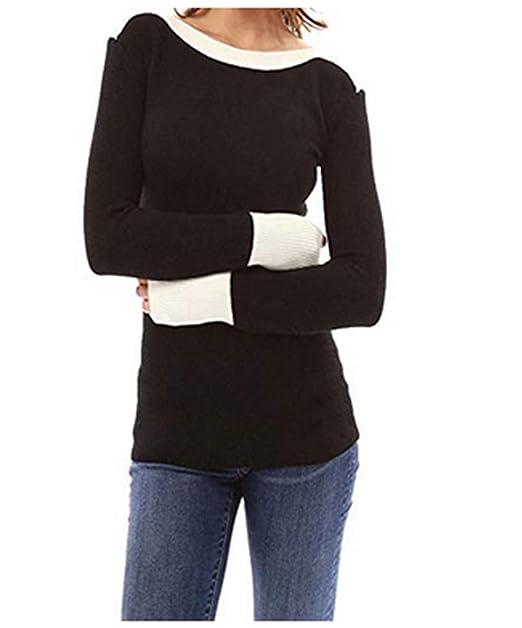 low priced a4887 0c765 Bluse Langarmshirt Tunika Damen Pullover Langarm Hemd T-Shirt Pullover Lang  Sleeve Tops Langshirt Locker Lose Sweatshirt Bluse Tunika Strick Oberteile  ...
