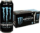 Lo-Carb Monster Energy, Energy Drink, 16 Ounce (Pack of 20)